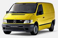 Автомобильные чехлы Mercedes Vito 2003 (1+2)