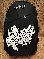 Рюкзак Converse (Конверс), чёрный с белым