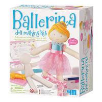 """Набор для рукоделия """"Наряди куклу. Балерина"""" ТМ 4М"""
