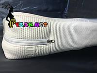 Матрас ортопедический в детскую кроватку трехслойный толстый Tempur бязь (кокос-поролон-кокос) 120х60х11 см, фото 1