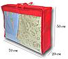 Сумка для хранения вещей\сумка для одеяла L (красный), фото 2
