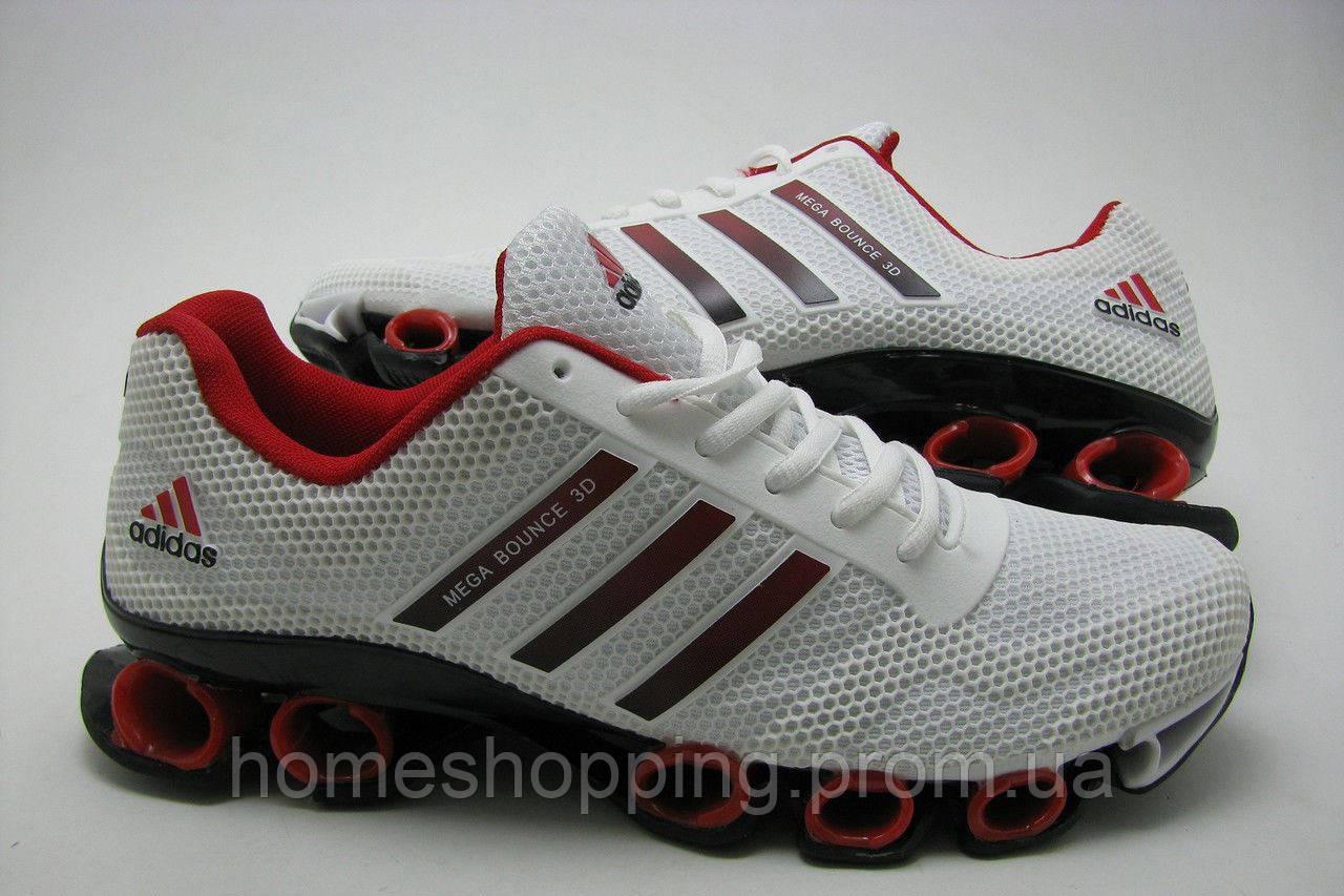 Мужские кроссовки Adidas Mega Bounce 3D белые