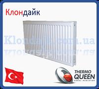 Стальной радиатор боковое подключение 33К*300*900 THERMOQUEEN