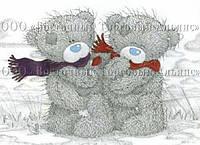 Печать съедобного фото - А4 - Вафельная бумага - Тедди №3