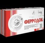 Ферродок- натуральный препарат железа, железодефицитные анемии различной этиологии (30 Арт Лайф)