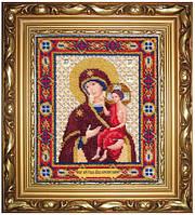 Набор для вышивания бисером Икона Божьей Матери Воспитание Б-1117
