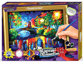Картина по номерам: Мостик (в коробке) KN-01-06 Danko-Toys Украина