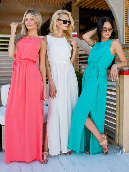 платья для лета