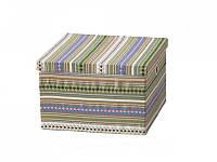 Текстильный короб с крышкой
