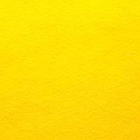 Фетр мягкий 1.4 мм, 20x30 см, ЖЕЛТЫЙ, Hobby&You