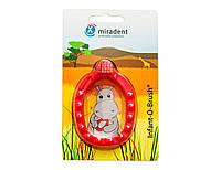 Зубная щётка-прорезыватель Miradent Infant-O-Brush,red