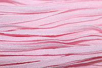 Тесьма акрил 6мм (50м) св.розовый