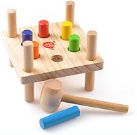 Игра стучалка деревянная