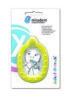Зубная щётка-прорезыватель Miradent Infant-O-Brush,yellow, фото 1