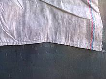 Мешки полипропиленовые размером 55х73см, вместимость 25кг, белые UA, фото 3