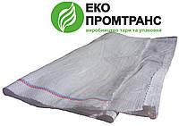 Мешки полипропиленовые размером 55х73см, вместимость 25кг, белые UA
