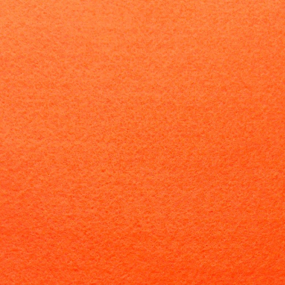 Фетр мягкий 1.4 мм, 20x30 см, ОРАНЖЕВЫЙ, Hobby&You