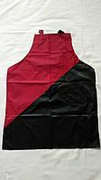Передник черно-красный
