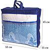 Сумка для хранения вещей\сумка для одеяла XS (синий), фото 2