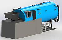 Паровой твердотопливный гибридный котел Akkaya 6 т/час, 10 Бар (пелета, щепа, отходы)Akkaya