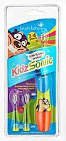 Электрическая зубная щетка Brush-Baby KidzSonic  от 3 до 6 лет (звуковая)