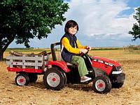 Веломобиль детский трактор детский трактор с педальным приводом Maxi Diesel Tractror