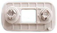 Кронштейн крепления переднего широкого бампера Volkswagen, 165807193B