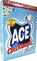 Средство для  удаления пятен  ACE oxi magic WHITE 500 грм