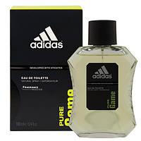Туалетная вода Adidas Pure Game 100 ml.