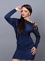 Изумительно красивое оригинального покроя платье-туника, фото 2