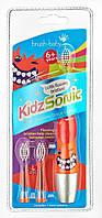 Электрическая зубная щетка Brush-Baby KidzSonic  от 6 лет (звуковая)