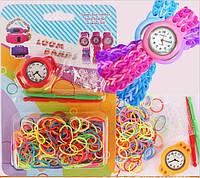 Часы + Loom bands резинки для плетения браслетов, фото 1