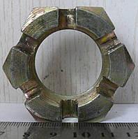 Гайка пальца реактивного корончатого КАМАЗ <ЕВРО> М33х1,5 (пр-во Россия)
