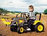 Веломобиль MAXI Excavator- детский педальный экскаватор с цепным приводом 2шт.