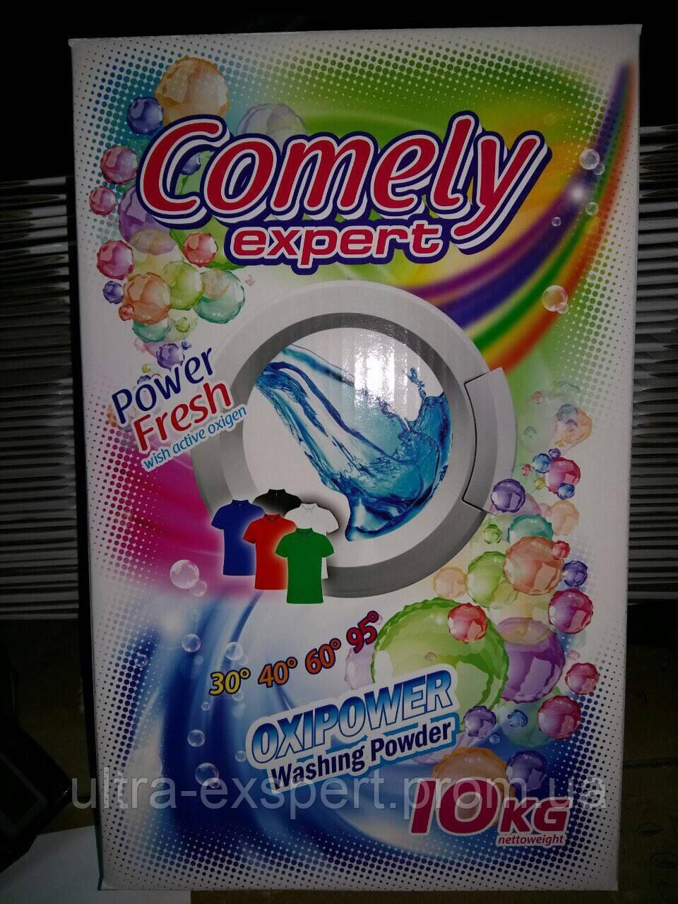 """Бесфосфатный стиральный порошок Comely Expert (Камели )10 кг, универсальный - ТОВ """"Компания КАВА"""" в Днепре"""