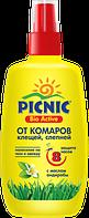 Пикник Bio Active Спрей от комаров и клещей, 120 мл