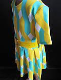 Детское летнее платье с широким поясом., фото 3