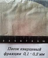 Кварцевый песок 0,1-0,2 мм