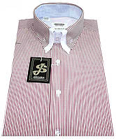 Мужская рубашка с коротким рукавом в полоску S 5.1 7338-V5