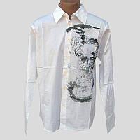 Рубашка мужская 72756 белая