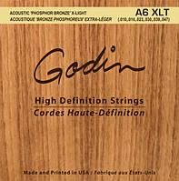 Струны GODIN 008988 A6 XLT – Strings Acoustic Guitar XLT Phos Bronze