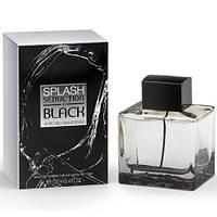 Мужская туалетная вода Antonio Banderas Splash Black Seduction (яркий аромат)