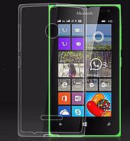 Чехол силиконовый Ультратонкий Epik для Nokia Microsoft Lumia 435 / 532 Прозрачный