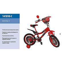 Дитячий велосипед 18 Тачки