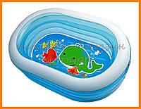 """Надувной бассейн детский intex """"Нежность"""", размеры 163*107*46 см"""