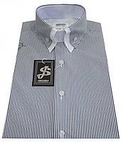 Мужская рубашка с коротким рукавом в полоску S 5.1 7338-V6