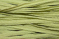 Тесьма акрил 6мм (50м) салат , фото 1