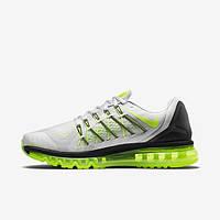 Мужские кроссовки Nike Air Max 2015 grey/green, фото 1