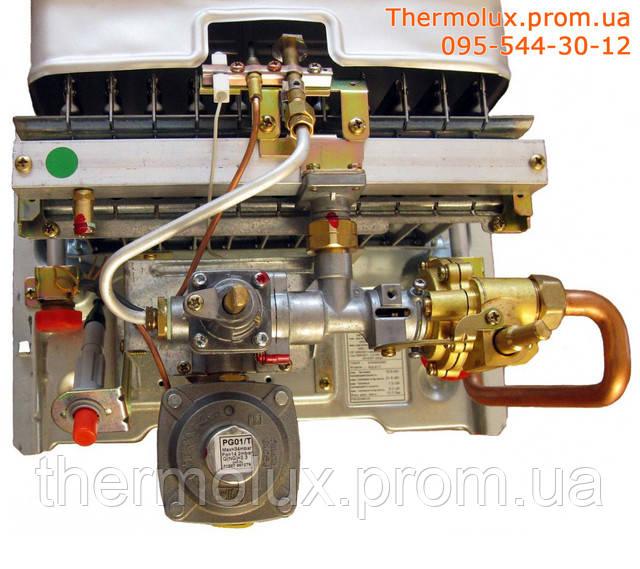 Внутренний вид газовой колонки Beretta Aqua 11
