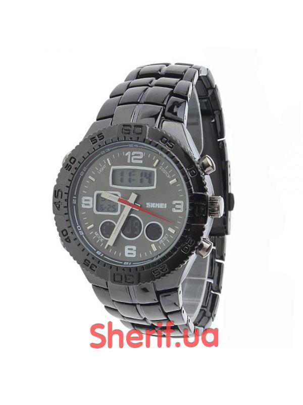 Часы Skmei черные 1030